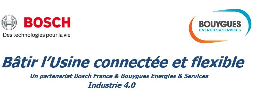 Signature Bosch France et Bouygues Energies & Services