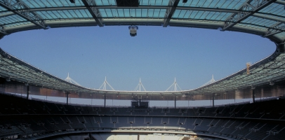 Visual of inside of Stadium of France
